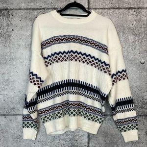 Vintage // Patterend Knit Sweater